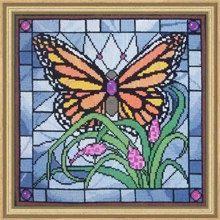 Cross Stitch Kit  Monarch Butterfly by CrossStitchKitsOnly on Etsy, $31.00