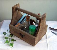 Small Wooden Trug Box