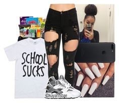 """""""My style #1"""" by kayahisbae ❤ liked on Polyvore featuring NIKE"""