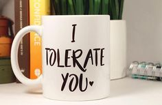 Funny Husband Gift For Husband_Valentines Day Him_Anniversary Gifts_Wife_Boyfriend_Girlfriend_Funny Best Friend Birthday_Girlfriend Birthday ______________ I Tolerate You Holds 11 oz or 15 oz of Liquid Girlfriend Humor, Husband Humor, Funny Husband, Boyfriend Girlfriend, Funny Man, Anniversary Gifts For Wife, Birthday Gifts For Girlfriend, Best Friend Birthday, Valentines Day Husband