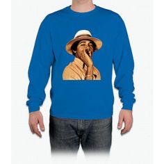 young obama smoke classic Long Sleeve T-Shirt