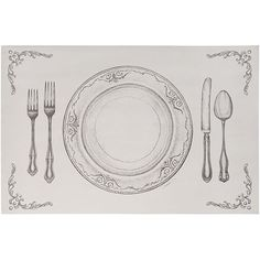 placemats Paper Source