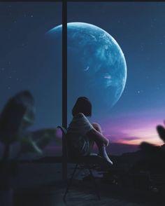 i'll save our love Anime Backgrounds Wallpapers, Anime Scenery Wallpaper, Animes Wallpapers, Cute Wallpapers, Night Sky Wallpaper, Galaxy Wallpaper, Sky Aesthetic, Aesthetic Anime, Arte Van Gogh