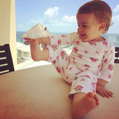 Keep your baby comfy and cozy!!! #colibribebe #clothing #flowerprint #summer14 #fashionkids #vacations #fabulous #adorable #baby