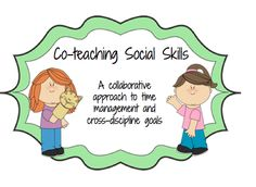 co-teaching social skills