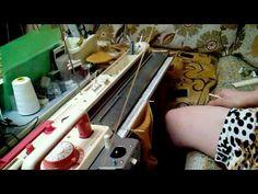 Вязание носков без сшивания /цельновязаные/ на Toyote  858. - YouTube