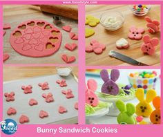 Yummy Bunny Sandwich Cookies Idea ! - Foood Style
