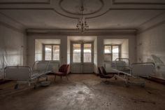 Abandoned German Care Home Is The Eeriest Thing You'll See Today