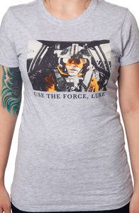 Use The Force Luke Star Wars Shirt