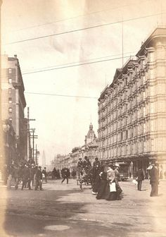 San Francisco Before the Quake – Old Photos of the City in the early 1900s