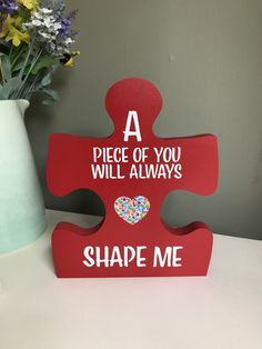 Excited to share this item from my shop: Teacher appreciation thank you gift puzzle piece Puzzle Piece Crafts, Puzzle Art, Puzzle Pieces, Autism Crafts, Preschool Crafts, Teacher Appreciation Gifts, Teacher Gifts, Puzzle Quotes, Crowns