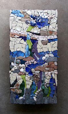 Mosaic Challenge: Something natural - WIP by stiglice - Judit, via Flickr