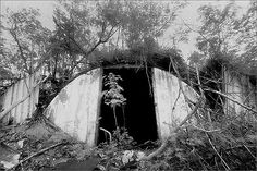WWII Japanese Bunker in Saipan, 19444....