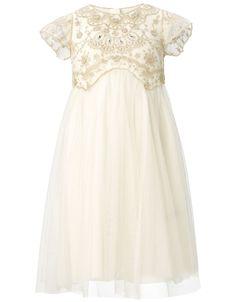 flowergirl Freya Dress   White   Monsoon