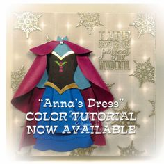 """Suitably Stamped: """"Anna's Dress"""" - COLOR TUTORIAL NOW AVAILABLE"""