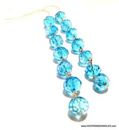 Handcrafted From Vintage Costume Jewelry Long by hoopsanddangles, $3.99