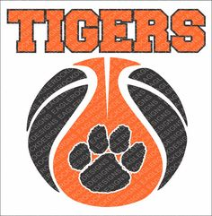 Tigers Basketball SVG DXF EPS Cut File For by EagleRockDesigns