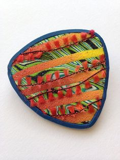 Polymer brooch | by beadunsupervised