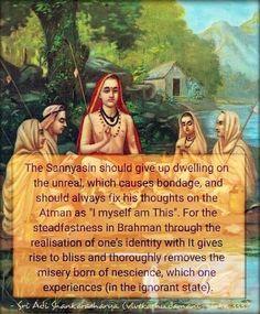 Enlightenment Quotes, Spiritual Quotes, Saints Of India, Advaita Vedanta, Self Realization, Bhagavad Gita, Sai Baba, Hinduism, Spiritual Awakening