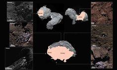 Ice on Comet 67P/Churyumov-Gerasimenko. Credit: ESA/Rosetta/MPS for OSIRIS Team MPS/UPD/LAM/IAA/SSO/INTA/UPM/DASP/IDA