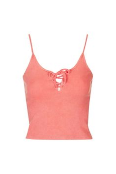 Ribbed Tie-Up Cami