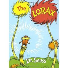 Weekly Trip to the Library: The Lorax by Dr. Suess Over ago Dr. Seuss published The Lorax . In his search to find a real Truffula Tree a boy must find the Lorax who is a forest guardian wh… The Lorax Book, O Lorax, Dr. Seuss, Dr Seuss Art, Best Children Books, Childrens Books, Children Reading, Toddler Books, Young Children