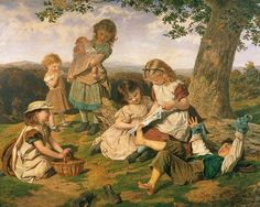 Sophie Anderson was one of the most successful women artists of her day, specialising in portraiture and scenes of everyday, domestic life. Description from bmagic.org.uk. I searched for this on bing.com/images