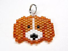 Beagle Charm, Seed Bead Weaving