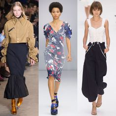 Fashion month was nothing short of spectacular. From modern, sporty looks in New York toeccentricity in London to high glamour in Milan and Paris, the spr