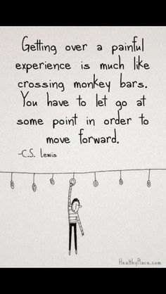 C.S. Lewis on letting go