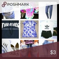 ISO. I do not have ISO  Thrasher, Adidas , Hollister, Miss Me, Rock Revival. ISO I do not have would like to trade or will pay if it's a fair price PINK Victoria's Secret Other