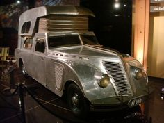 Picture Of The Day: 1934 Thompson House Car Cool Trucks, Fire Trucks, Airstream, Cool Rvs, Vintage Rv, Vintage Campers, Vintage Travel Trailers, Weird Cars, Truck Camper