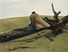 Andrew Wyeth: April Wind, 1952.