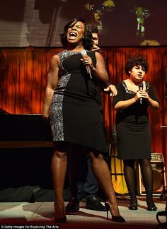 Stealing the limelight: Emmy winner Uzo Aduba took the stage at the 9th Annual Exploring T...