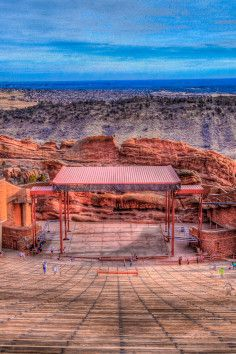 Staying in Denver? Hit up the Red Rock Park and Amphitheater for a breathtaking and unique time!