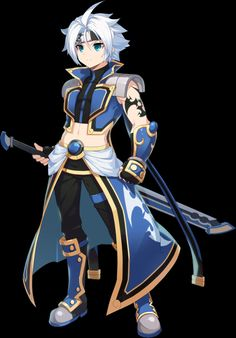 Character Art, Character Design, Warrior Outfit, Elsword, Backrounds, Anime Outfits, Chinese Art, Art Girl, Anime Guys