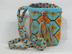 Mochila Wayuu Bag commerce équitable : Sacs bandoulière par les-ptits-pois-sont-rouges