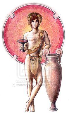 Theogony- Dionysus by marcoso86.deviantart.com on @deviantART