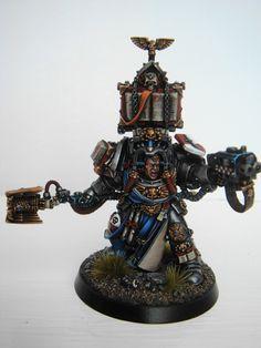 Grey Knight Terminator Librarian #warhammer