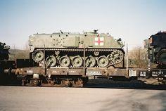 Jetzt zeige ich noch 3 Sanka-Panzer des FV 432 .