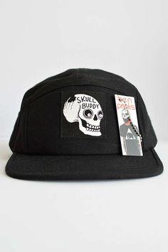 Skull Buddy Five Panel Hat!