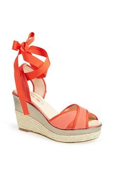 <3 Need these, and a tan <3  SJP by Sarah Jessica Parker SJP 'Leslie' Espadrille Sandal (Nordstrom Exclusive) $245.00