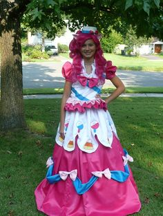 MLP Pinkie Pie Grand Galloping Gala Gown Cosplay