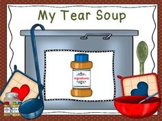 """Healing Grief Activities for """"TEAR SOUP"""" Book by Schwieber"""