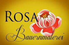 Bauernmalerei - Rosa 4