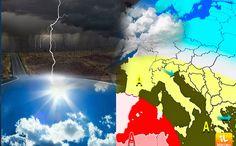 IL METEO DI FERRGOSTO 2017: CALDO MODERATO E TEMPORALI IN MONTAGNA #meteo #ferragosto #caldo #temporali