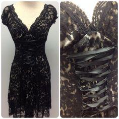Leopard dress from #NICCI