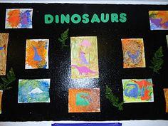 Dinosaur Art!