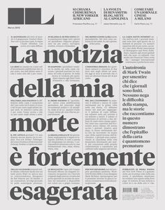 Creative Layout, Design, Francesco, Franchi, and Editorial image ideas & inspiration on Designspiration Typography Images, Typography Inspiration, Typography Letters, Typography Design, Lettering, Design Inspiration, Editorial Layout, Editorial Design, Editorial News