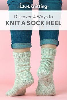 4 ways to knit a sock heel • LoveKnitting Blog